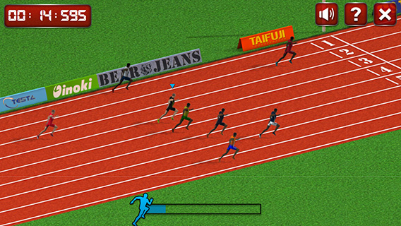 100 Meters Race screenshot 1