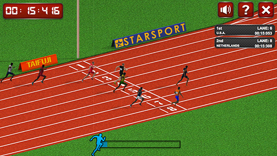 100 Meters Race screenshot 2
