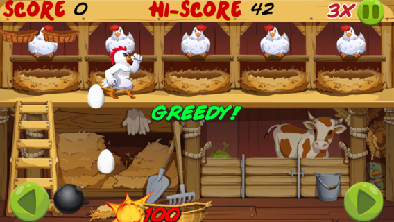 Angry Chicken Egg Madness screenshot 0