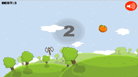 Axe Vs Fruits screenshot 1