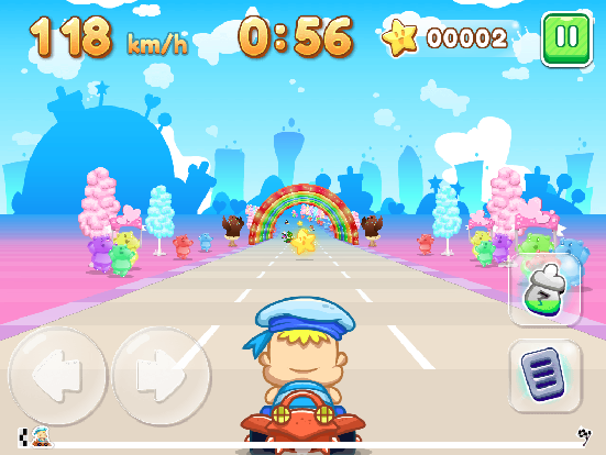 Baby Race Galaxy screenshot 0