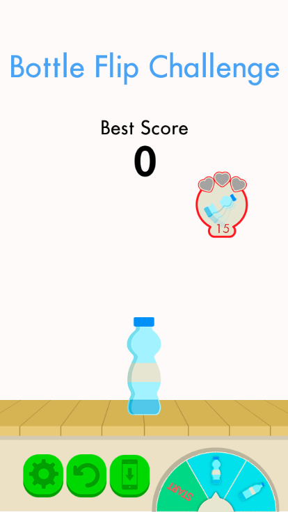 Bottle Flip screenshot 1