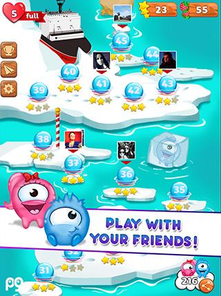 Bubble Guriko screenshot 1