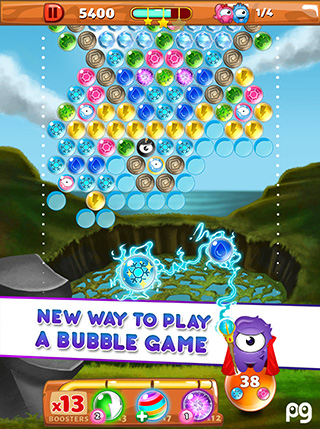 Bubble Guriko screenshot 1