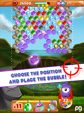 Bubble Guriko screenshot 2