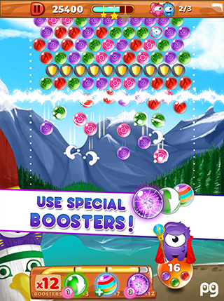 Bubble Guriko screenshot 3