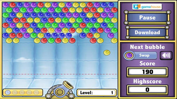 Bubbles Shooter screenshot 0