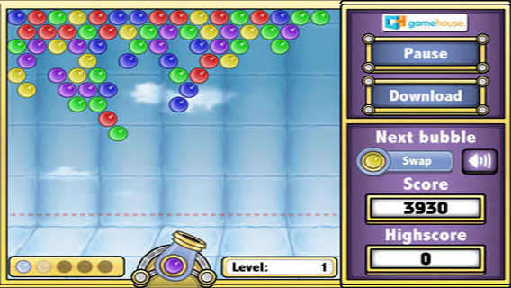 Bubbles Shooter screenshot 1