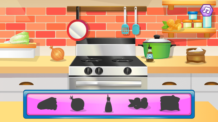 Cooking Korean Lesson screenshot 0