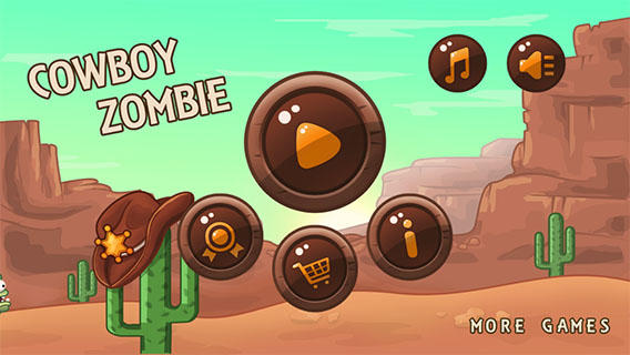 Cowboy Zombie screenshot 1
