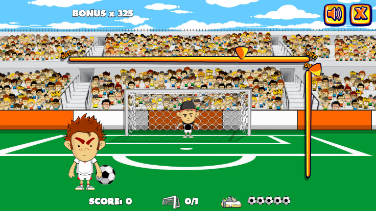 Crazy Freekick screenshot 1