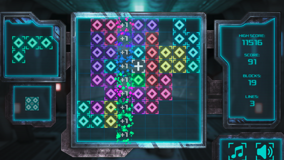 Cyber TetroBlocks screenshot 0