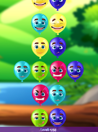 Emoticon Balloons screenshot 1