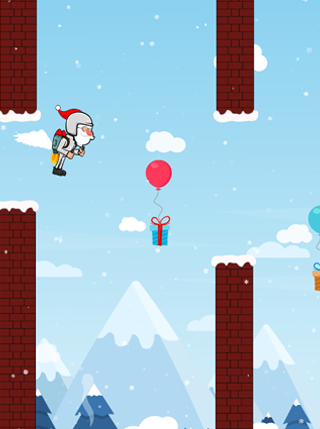 Flappy Santa screenshot 0
