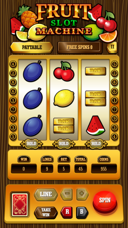 Fruit Slot Machine screenshot 0