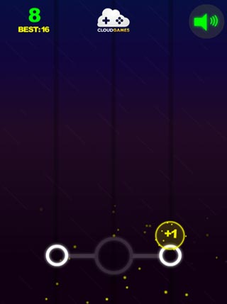 Glowing Circles screenshot 0