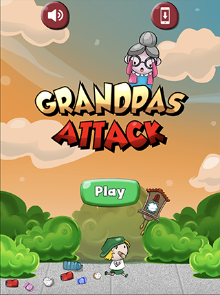 Grandpas Attack screenshot 0