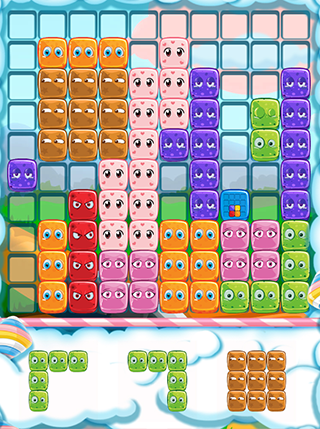 Gummy Blocks Evolution screenshot 0