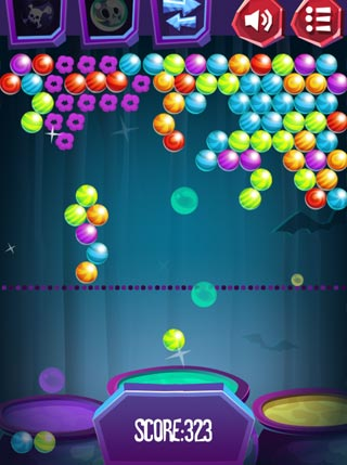 Halloween Bubble Shooter screenshot 0