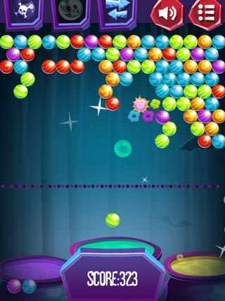 Halloween Bubble Shooter screenshot 1