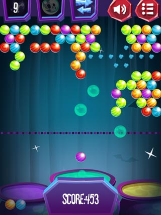 Halloween Bubble Shooter screenshot 2