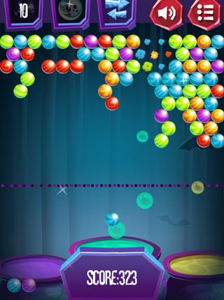 Halloween Bubble Shooter screenshot 3