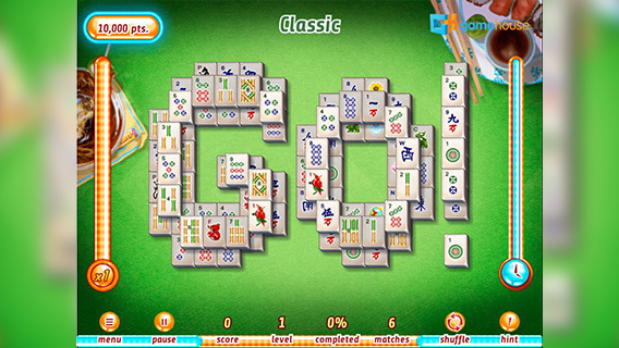Hotel Mahjong screenshot 2