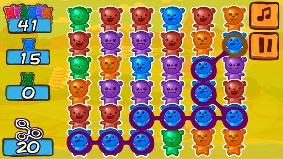 Jelly Bears screenshot 0