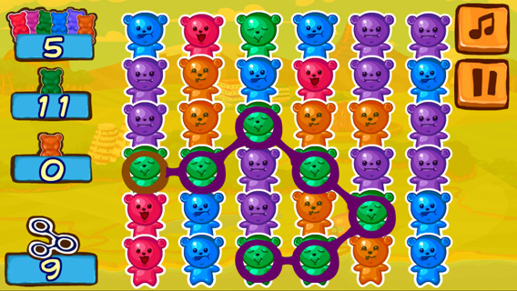 Jelly Bears screenshot 1