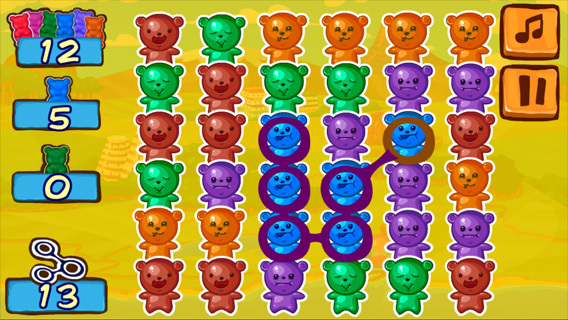 Jelly Bears screenshot 2