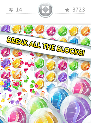 Jewel bubbles screenshot 1
