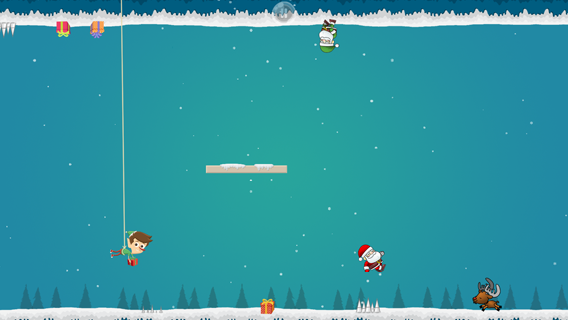 Jump Santa Jump screenshot 1