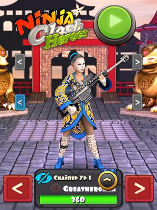 Ninja Clash Heroes screenshot 2