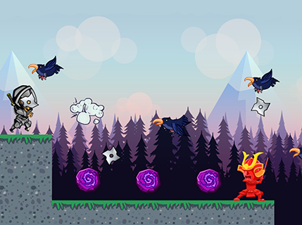 Ninja Run screenshot 1