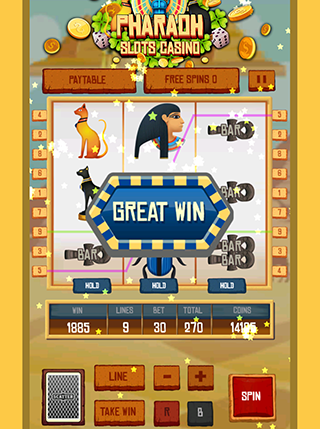 Pharaoh Slot Casino screenshot 0