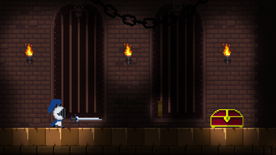 Pixel Castle Runner screenshot 0