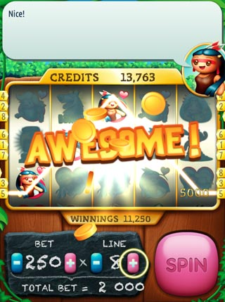 Pocahontas Slots screenshot 1