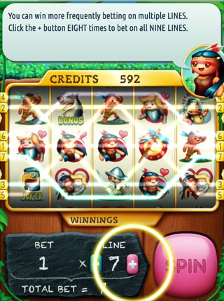 Pocahontas Slots screenshot 3