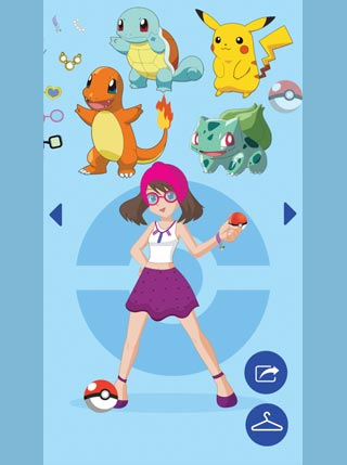 Pokemon Dress Up screenshot 0