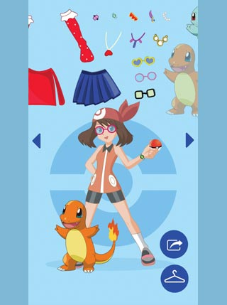 Pokemon Dress Up screenshot 1