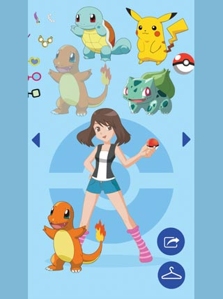 Pokemon Dress Up screenshot 2