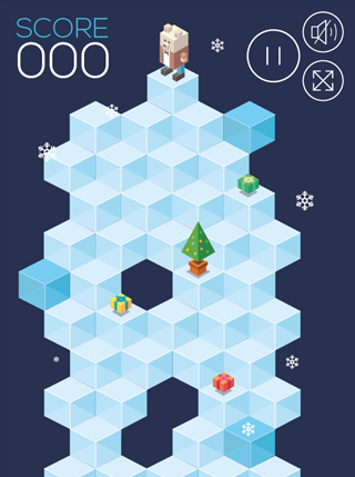 Polar Fall screenshot 0