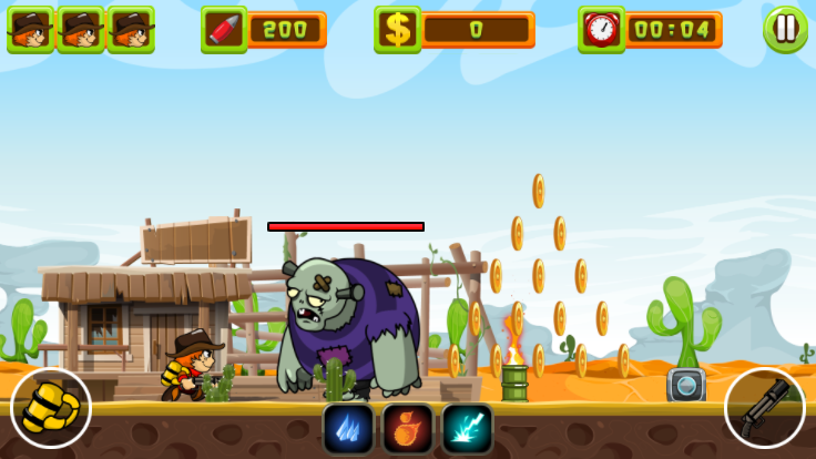 Rangers Vs Zombies screenshot 0