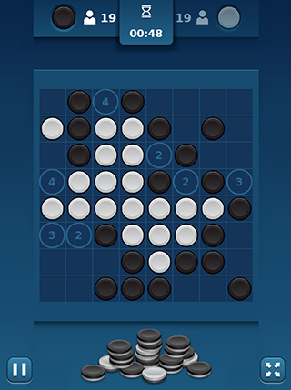 Reversi Mania screenshot 0