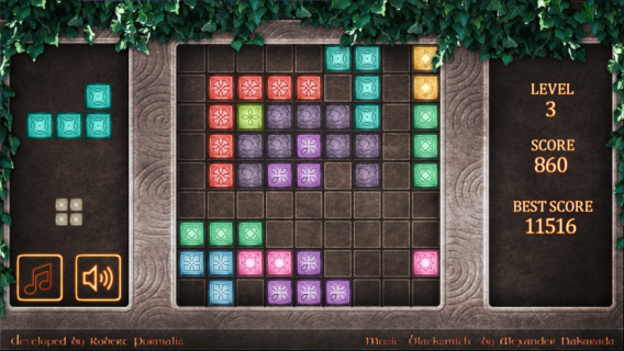 Runic Blocks screenshot 0