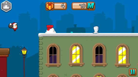 Santa Run screenshot 0