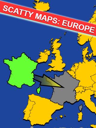 Scatty Maps Europe screenshot 1
