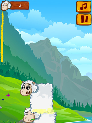 Sheep Stacking screenshot 1