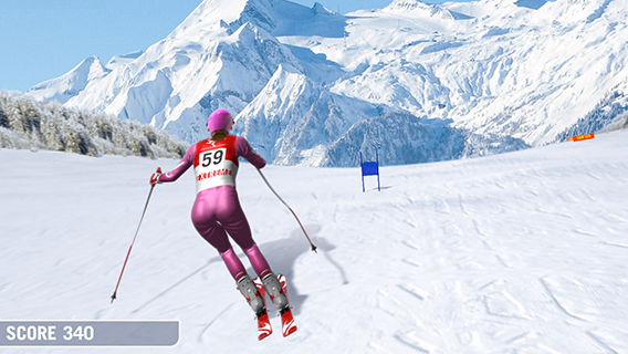 Slalom Ski Simulator screenshot 0