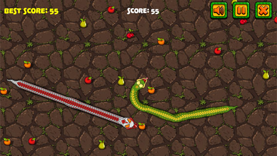 Snake Attack screenshot 2